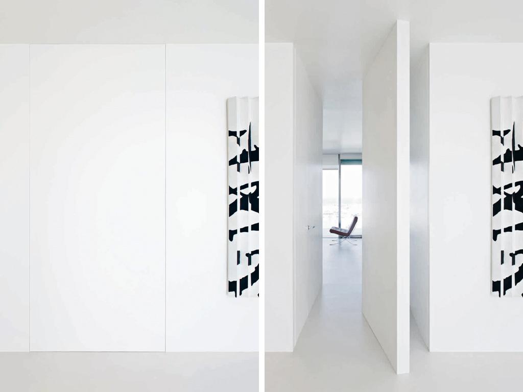 La puerta esta pero no se ve puertas al ras de la pared - L invisibile porte ...
