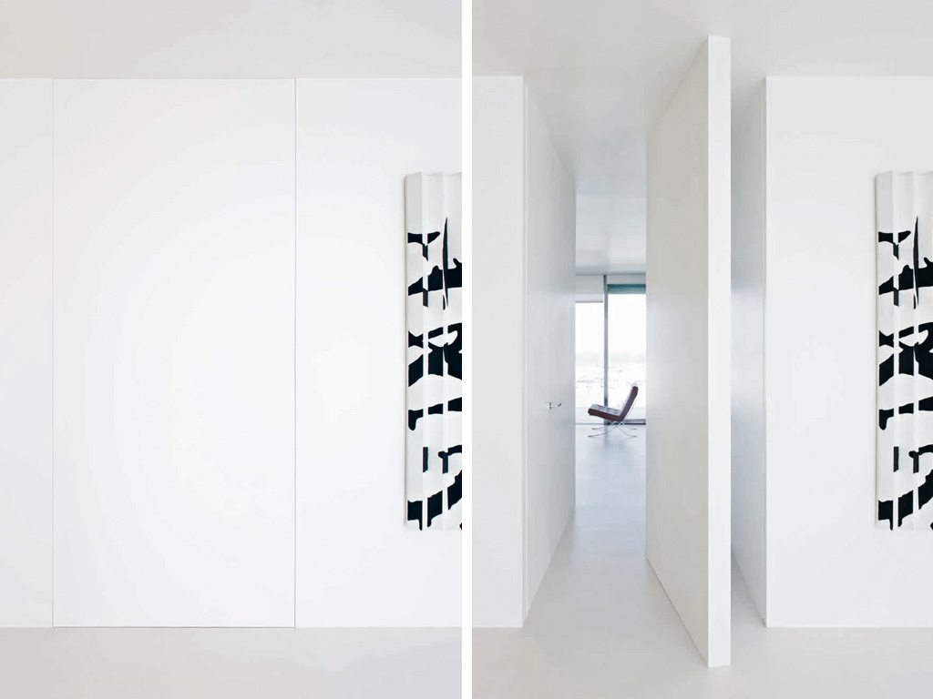 La puerta esta pero no se ve puertas al ras de la pared - L invisibile porte a scomparsa ...