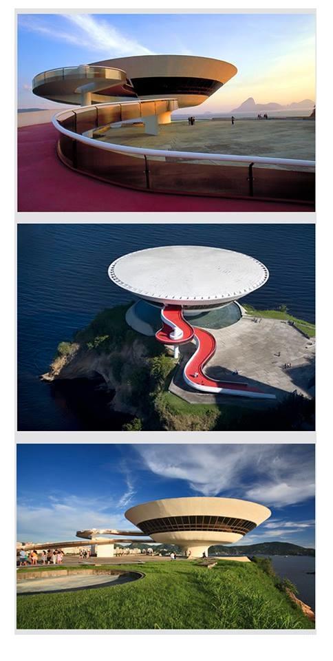 museo de arte contemporáneo by Oscar Niemeyer