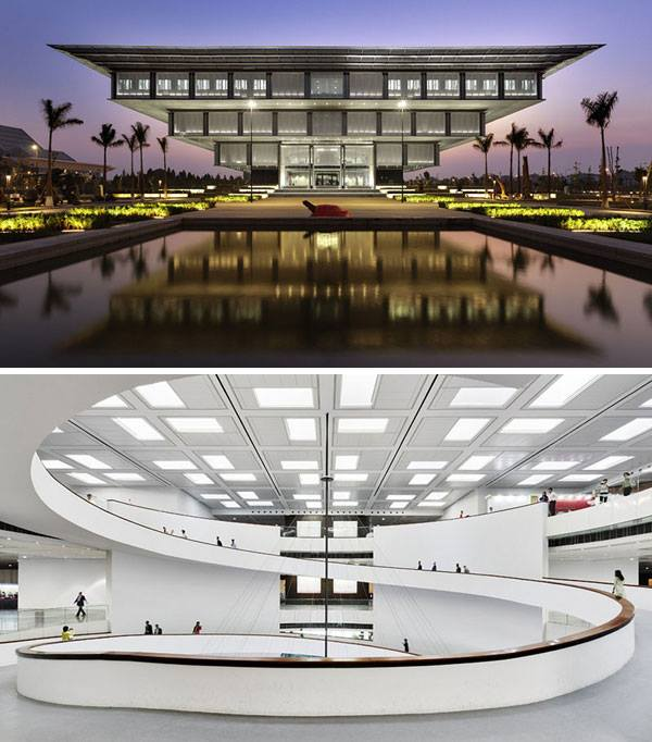 the Hanoi Museum en Vietnam de GMP Arquitectos.