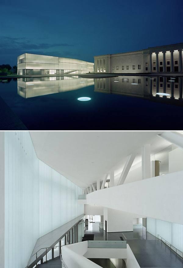 the Nelson-Atkins Museum en Kansas City de Steven Holl