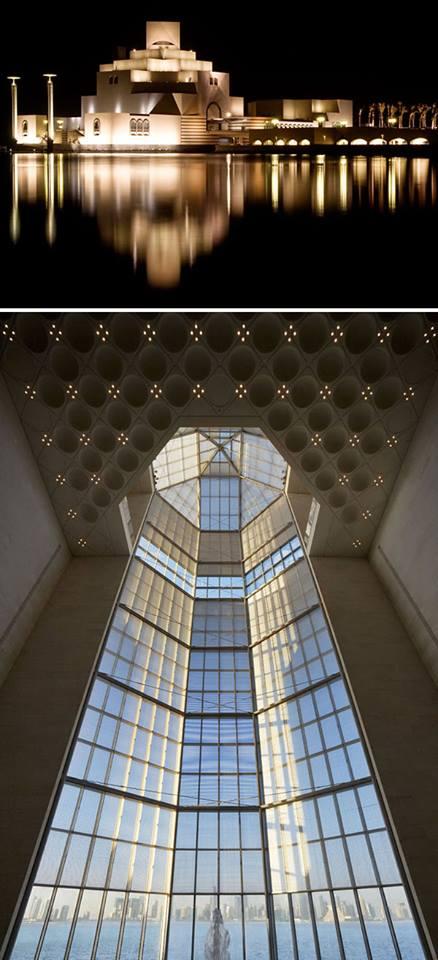 Museum Islamico Art en Doha Quatar de I.M Pei