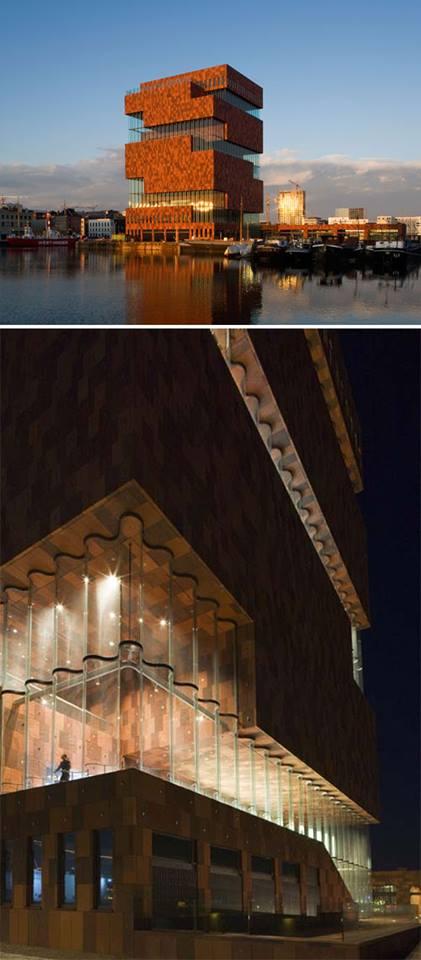 "Museo""MAS"" en Antwer,Belgica de Neutelings Arquitectos"