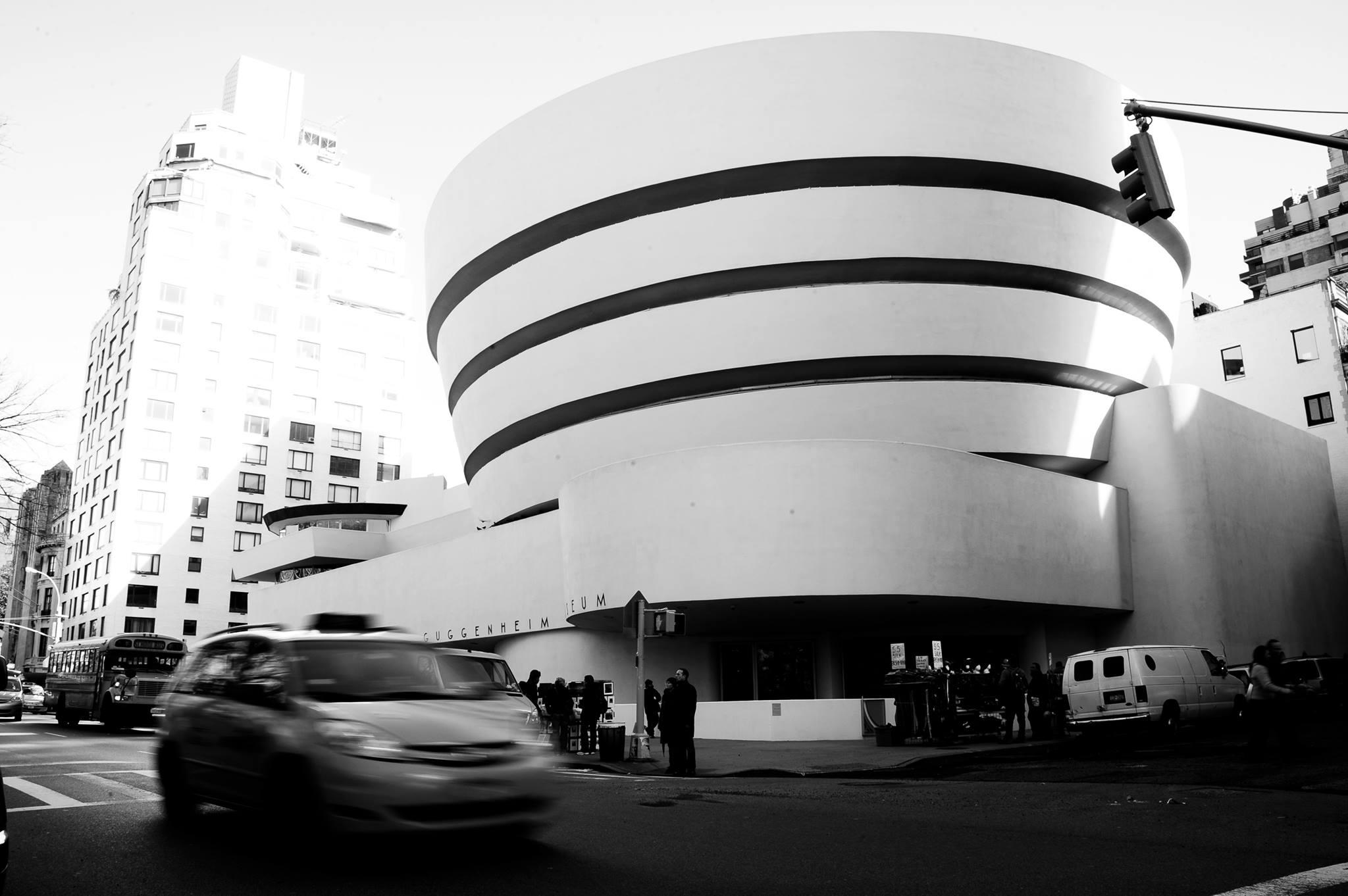Guggenheim,NY by Frank Llyod Wrigh