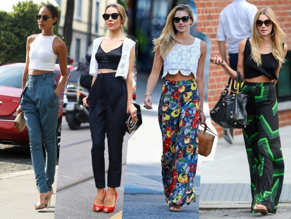 crop top trend 2014 outfits fashion blog street style streetstyle